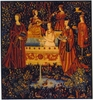 Royal Characters Tapestry -  Medieval