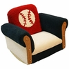 Kid's Posh Baseball Rocker Chair