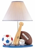Boy's All Star Sport Table Lamp