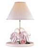 Pink Ballerina Shoes Table Lamp