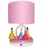 Animated Disney Princess Table Lamp
