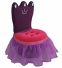 Princess Crown Pink & Purple Chair
