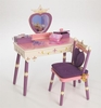 Storybook Princess Vanity Table & Chair