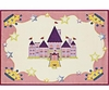 Storybook Princess Castle Area Rug