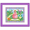 Personalized Fairy Princess Framed Print