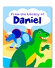 Dinosaurland Personalized Kids Book Plate