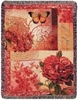 Spring Blooms Tapestry Throw