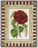Red Rose I Tapestry Throw