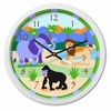 Zoo Friends Wall Clock