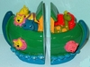 Noah's Ark Zoo Friends Bookends