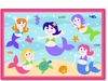 Girl's Mermaids Printed Rug