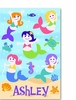 Personalized Mermaids Poster