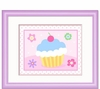 Tea Party Cupcake Framed Print