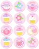 Tea Party Personalized Stickers