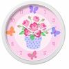 Blossoms and Butterflies Clock