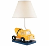 Boy's Cement Mixer Table Lamp