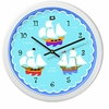 Boy's Pirates! Clock