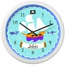 Boy's Pirate Clock - Personalized