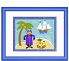 Captain's Beach Framed Print