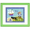 Pirates Shipwrecked Framed Print