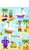 Boy's Personalized  Pirate Print