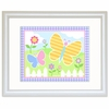 Framed Yellow Butterfly Garden Print