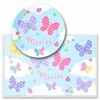 Personalized Butterfly Garden Meal Set