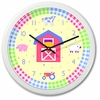 Kids' Country Barn Clock