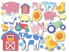 Country Baby Wall Cut-outs