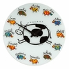 Vache Glass Wall Clock