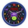 Personalized Halloween Spider Web Clock