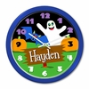 Personalized Halloween Casper Clock