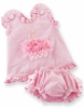 Cupcake Pinafore and Bloomers 0-6M