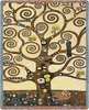 Klimt Tree of Life Tapestry Throw