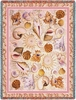 Coastal Seashells Tapestry Throw