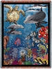 Underwater Nature Tapestry Throw