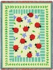 Ladybug Garden Tapestry Throw
