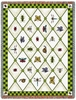 Garden Guests Tapestry Throw