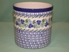 Polish Pottery Utensil Holder - Pattern A62
