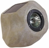 Small Faux Rock Solar LED Accent Light