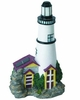 Solar White Lighthouse Accent Light