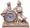Classic Ivory Maiden Desk Clock