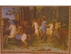 Medieval Battle Scene Tapestry