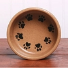 Ceramic Pet Bowl - Round Print