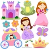 Princess Peel & Stick Cut Outs