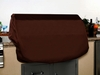"56"" Grill Top Cover - Chocolate Brown"
