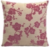 "Cherry Blossom 16"" Square Pillow"