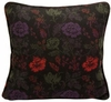"Charvet Rose 18"" Square Tweed Pillow"