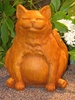 Happy Fat Cat - 10 inch Tall