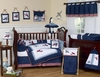 Baby's Vintage Aviator 9 pc Nursery Set